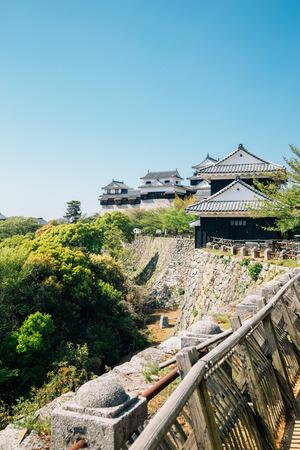 Matsuyama Castle in Matsuyama, Shikoku, Japan