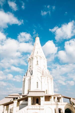 Church of the Ascension at Kolomenskoye park in Moscow, Russia Stock Photo