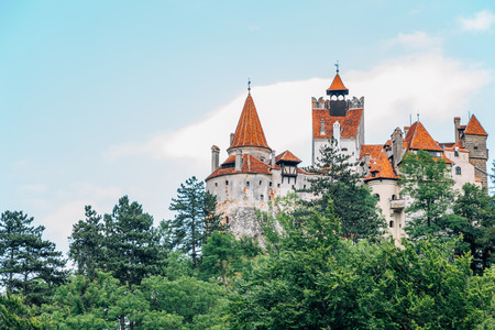 Bran Castle Dracula fortress in Romania