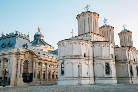 Patriarchalische Kathedrale in Bukarest, Rumänien Standard-Bild