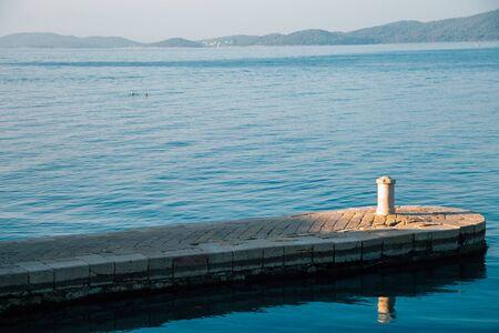 Kolovare Beach in Zadar, Croatia 스톡 콘텐츠 - 131956478