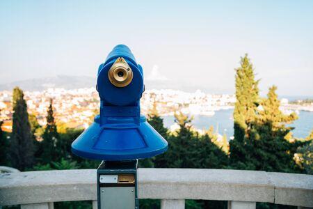 Marjan hill observatory in Split, Croatia
