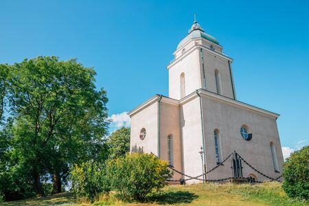 old church in Helsinki, Finland