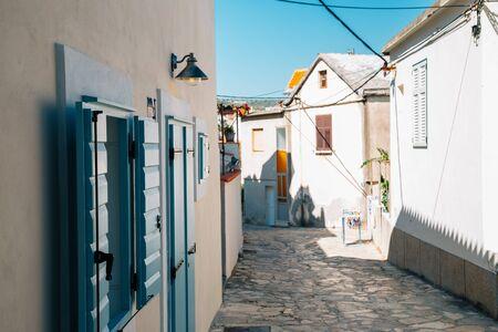 Primosten village at summer in Croatia