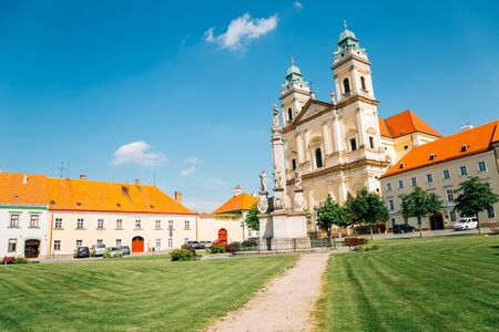 Church of the Assumption of the Virgin Mary in Valtice, Czech Republic