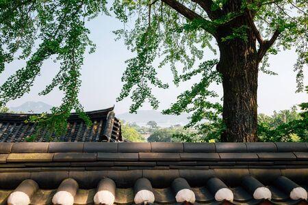 Gyodong Hyanggyo Confucian School in Ganghwa-gun, Incheon, Korea 스톡 콘텐츠 - 149903808