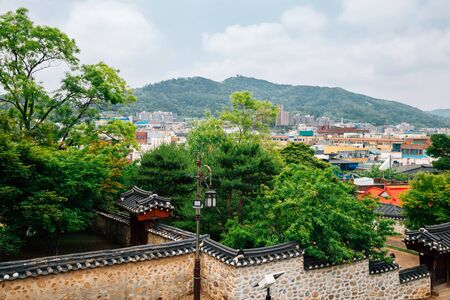 Ganghwa island city view and Yeongheung Palace in Incheon, Korea 스톡 콘텐츠 - 149907737