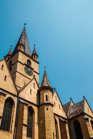 Lutheran cathedral of saint mary in Sibiu, Romania