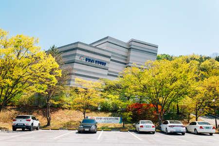Cheonan, Korea-April 28, 2020: ChungCheongNam-Do Safety Experience Center 免版税图像 - 152496838