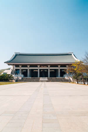 Cheonan, Korea-April 28, 2020: The Independence Hall of Korea 新闻类图片