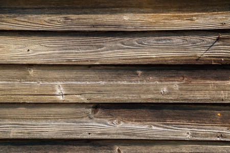Old wooden planks wall texture background 免版税图像 - 152584777