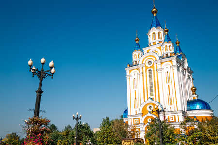 Dormition Cathedral in Khabarovsk, Russia