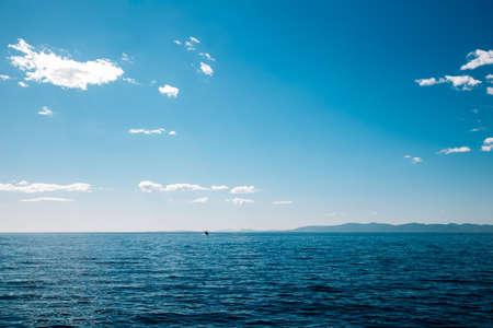 Tranquil sea landscape in Vladivostok, Russia Foto de archivo