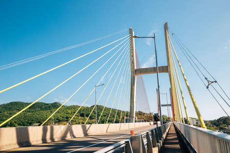 Geobukseon Bridge in Yeosu, Korea