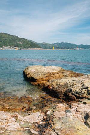 Seascape from Odongdo Island in Yeosu, Korea