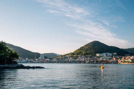 Sea village in Yeosu, Korea