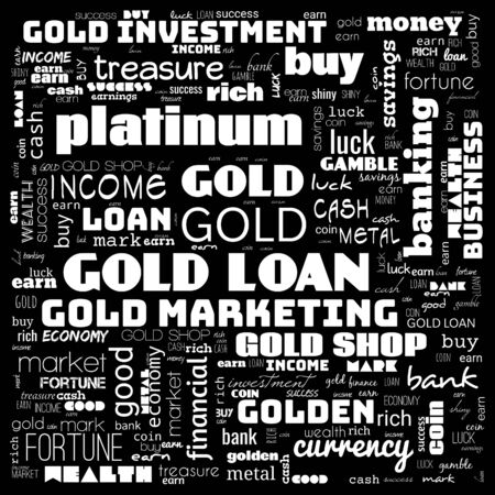 gold word cloud, text, word cloud use for banner, painting, motivation, web-page, website background, t-shirt & shirt printing, poster, gritting, wallpaper (illustration) 스톡 콘텐츠