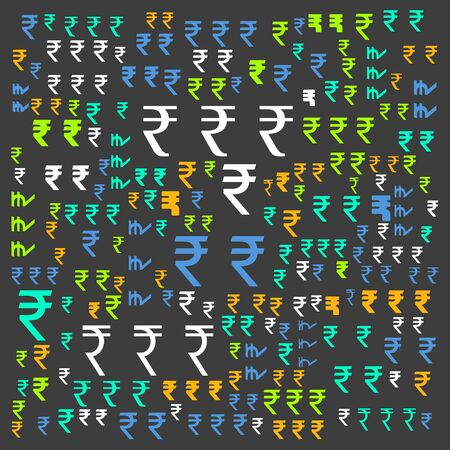 rupee currency word cloud,text cloud,word cloud use for banner, painting, motivation, web-page, website background, t-shirt & shirt printing, poster, gritting (illustration) Stock fotó