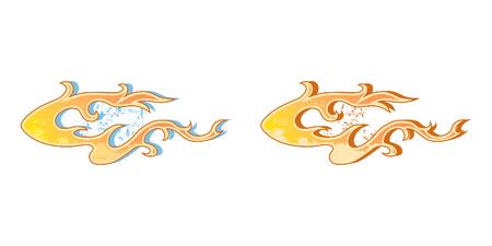 Vehículos Gráficos, Raya: Hot Rod Racing Llama, Graffiti coche decalque, vinilo Listo, diseño gráfico ilustración vectorial.