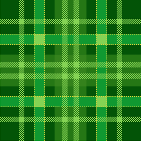 Plaid Tartan Seamless Pattern Background. Green traditional Scottish Ornament. Seamless Tartan Tiles. Trendy Vector Illustration for Wallpapers.