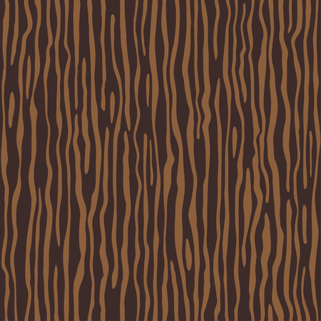 Brown  wooden wall plank, table or floor surface. Cutting chopping board. Cartoon wood texture, vector seamless background.