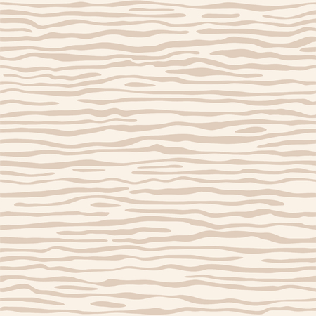 Light beige (ivory) wood texture template. The structure of the surface of the plywood, natural pattern, with slits. Vector background