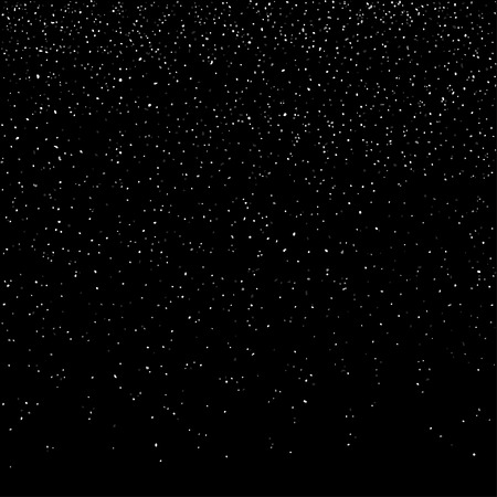 Cosmic Galaxy Background. Stardust and bright shining stars. Vector illustration
