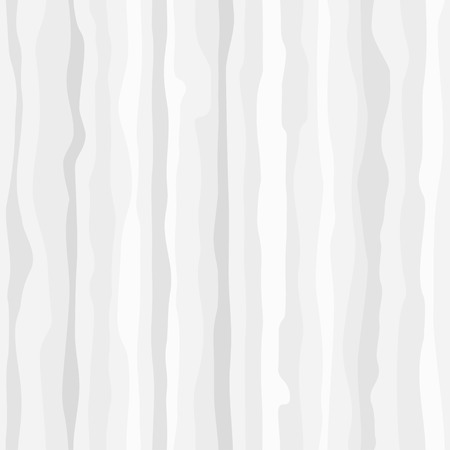 White smooth natural wood surface, seamless, striped, texture, tree, light, neutral abstract background, monochrome pattern. Vector monochrome pattern Ilustrace