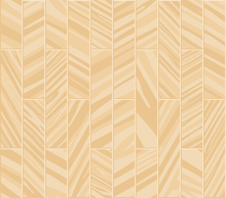 Parquet seamless texture. A floor made of wooden planks, imitation masonry of the laminate. Vector background