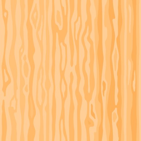 Light beige wood texture background. Empty natural pattern swatch template. Realistic plank. Backdrop size square format. Vector illustration Stock Illustratie