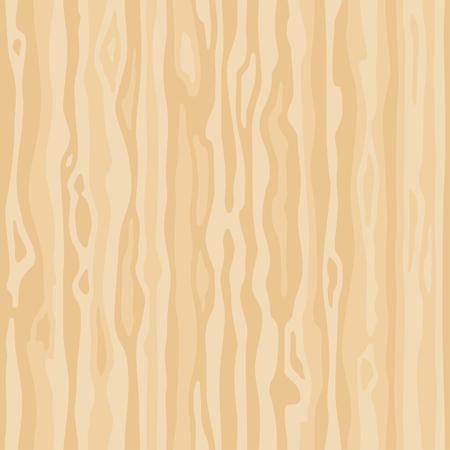 Licht beige houtnerf textuur. Dichte lijnen. Naadloze achtergrond. Leeg natuurlijk patroonstaalsjabloon. Realistische plank. Vector illustratie