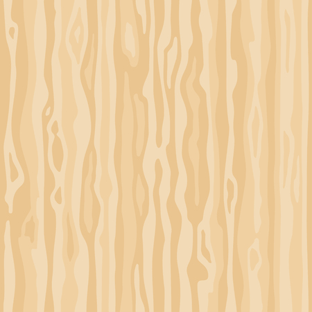 Light beige wood grain texture. Dense lines. Seamless background. Empty natural pattern swatch template. Realistic plank. Vector illustration  イラスト・ベクター素材