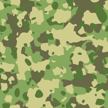 Motivo mimetico esercito senza soluzione di continuità. Trama militare. Verde, marrone. foresta, sfondo mimetico soldato. disegni di stampa tessile in tessuto.