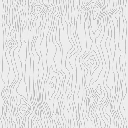 원활한 나무 패턴입니다. 나뭇결 질감입니다. 촘촘한 선. 밝은 회색 배경. 벡터 일러스트 레이 션 벡터 (일러스트)