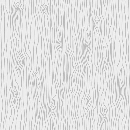 Abstract tree texture in linear style. Wood white background. Flat vector illustration