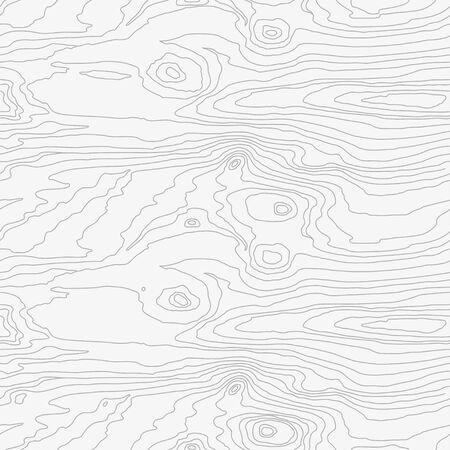 Patrón de madera sin costuras. Textura de grano de madera. Líneas densas. Fondo blanco abstracto. Ilustración vectorial Ilustración de vector