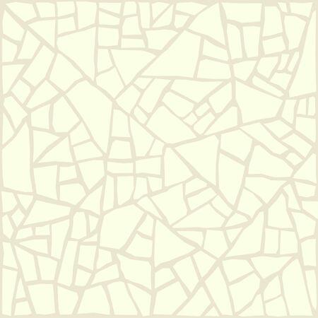 Cracks stone structure, white ceramic tile texture, cracking shards.Vector background