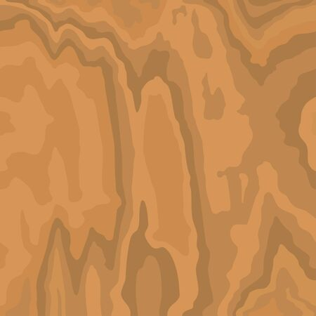 Wooden light brown pattern. Wood grain texture. Dense lines. Light background. Vector