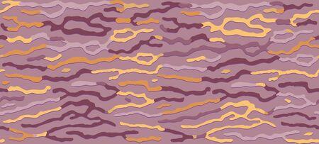 Stylish seamless Wallpaper, bionic pattern, organic texture, seamless abstract background, natural design print pattern. Vector illustration Ilustração