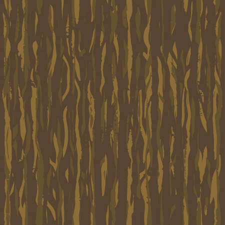 Brown wenge grunge wooden wall plank, table or floor surface. Cutting chopping boar. Cartoon wood texture, vector dry brush seamless background.