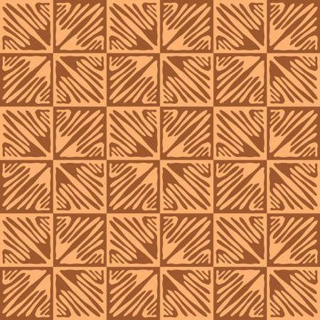 Tile print. Ornamental pattern. Brown texture. Vector background Reklamní fotografie - 164260354