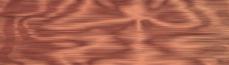 Copper metal wavy vibrant background. Striped shift texture. Moire interference effect. Line variable hypnotic contrast, bronze background. Vector wallpaper