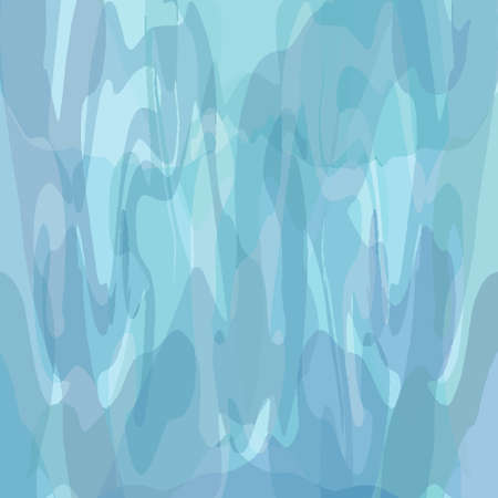 Blue green background texture with stained glass effect. Grunge watercolor painted in elegant faded banner design. Abstract artwork pattern.