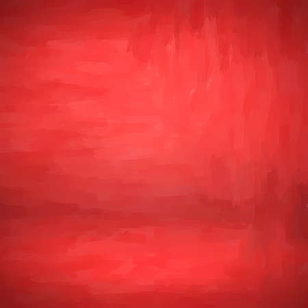 Empty red studio wall gradient form blend use as background for present content advertising product or text backdrop designs 免版税图像