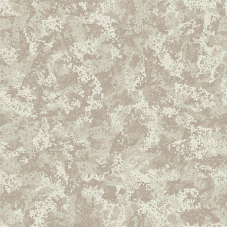 Light beige camouflage, modern fashion textile design. Natural surface. Camo grunge pattern. Fashionable tile print. Vector seamless texture.