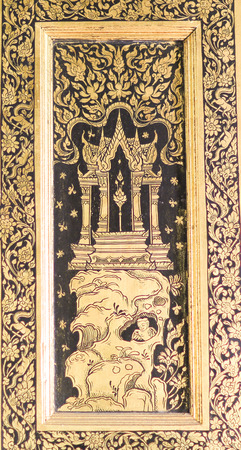 The art of Gilt Lacquer photo