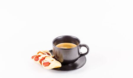 25 29: The bread coffee Stock Photo