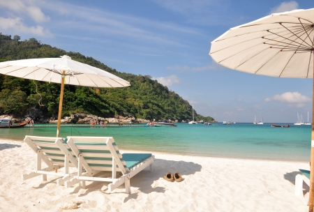 Relax day at Raya Island, Phuket ,Thailand photo