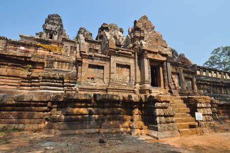 Ta Keo temple ,Angkor Wat  in Cambodia 版權商用圖片