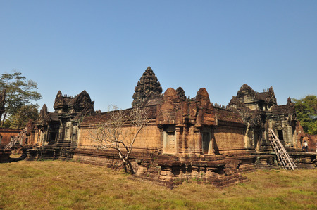 12th century: Banteay Samre Temple  in Siem Reap,Cambodia Bante ay Samre is hindu temple which is  built under Suryavarman II and Yasovarman II in the early 12th century